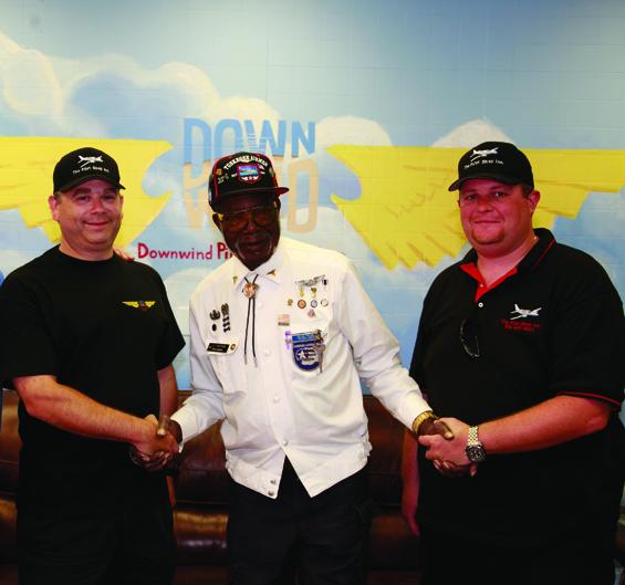 Richard Edelson, Tuskegee Airmen Julius Freeman, Mike Cimino
